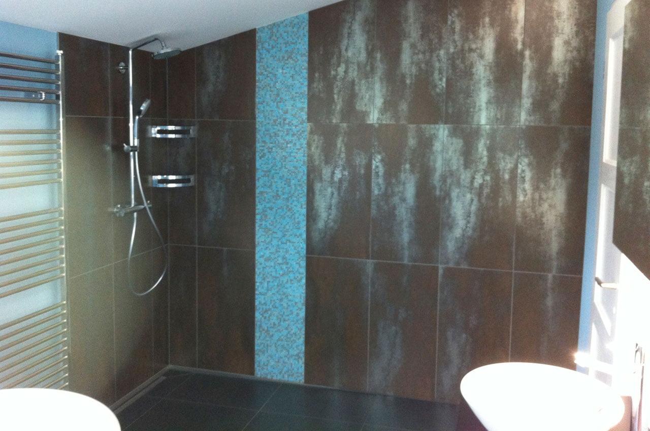 Badezimmer im Dachstock